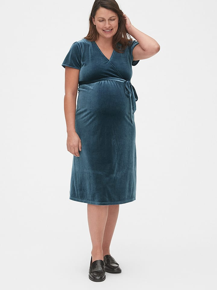 GAP Sukienka ciążowa w kolorze morskim