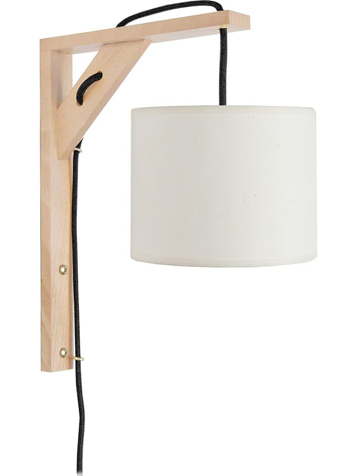 "Tosel Wandlamp ""Èquerre"" wit - (B)16 x (H)30 cm"
