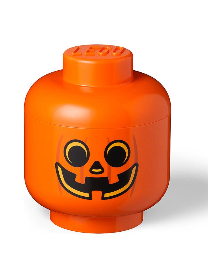 """LEGO Pojemnik """"Pumpkin"""" w kolorze pomarańczowym - wys. 27,1 x Ø 24 cm"""