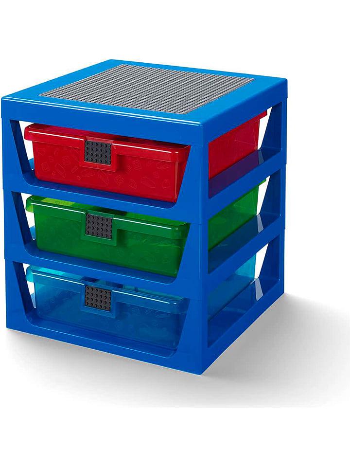 LEGO Regał w kolorze niebieskim - 34,6 x 32,6 x 37,9 cm