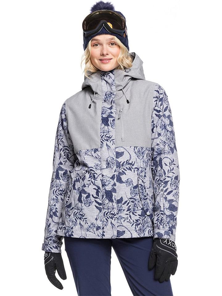 """Roxy Ski-/ Snowboardjacke """"Jetty"""" in Grau/ Blau"""