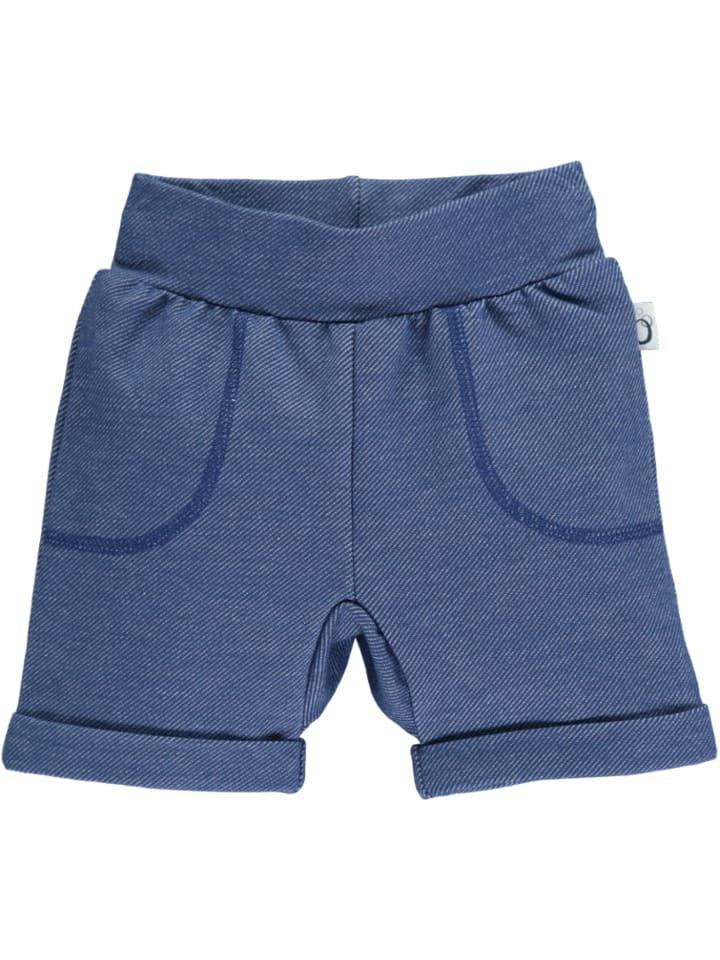 Lamino Short blauw gemêleerd
