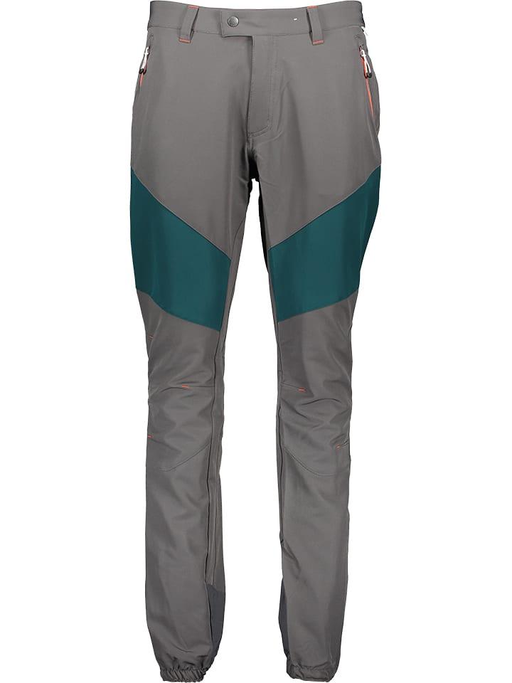 """Regatta Spodnie przeciwdeszczowe """"Mountain""""  w kolorze szarym"""