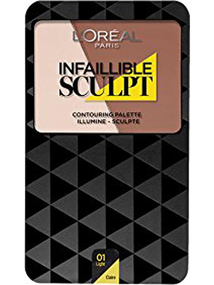 """L'Oréal Paris Contour- en highlighterpalet """"Infaillible Sculpt - 01 Light"""", 10 g"""