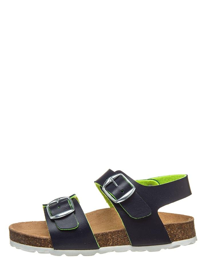 Sandalen in Dunkelblau