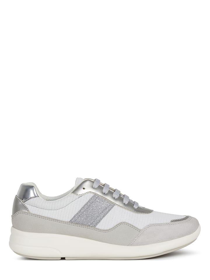 """Geox Sneakersy """"Ophira"""" w kolorze szarym"""