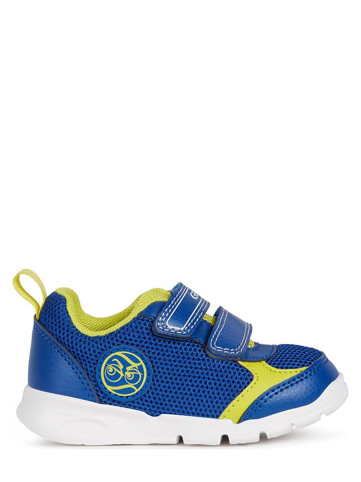 """Geox Sneakers """"Runner"""" blauw"""