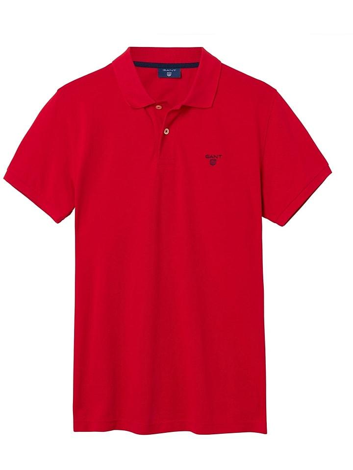 Gant Poloshirt in Rot