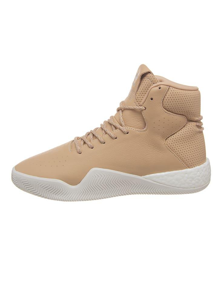 """Adidas Leren sneakers """"Tubular"""" beige"""