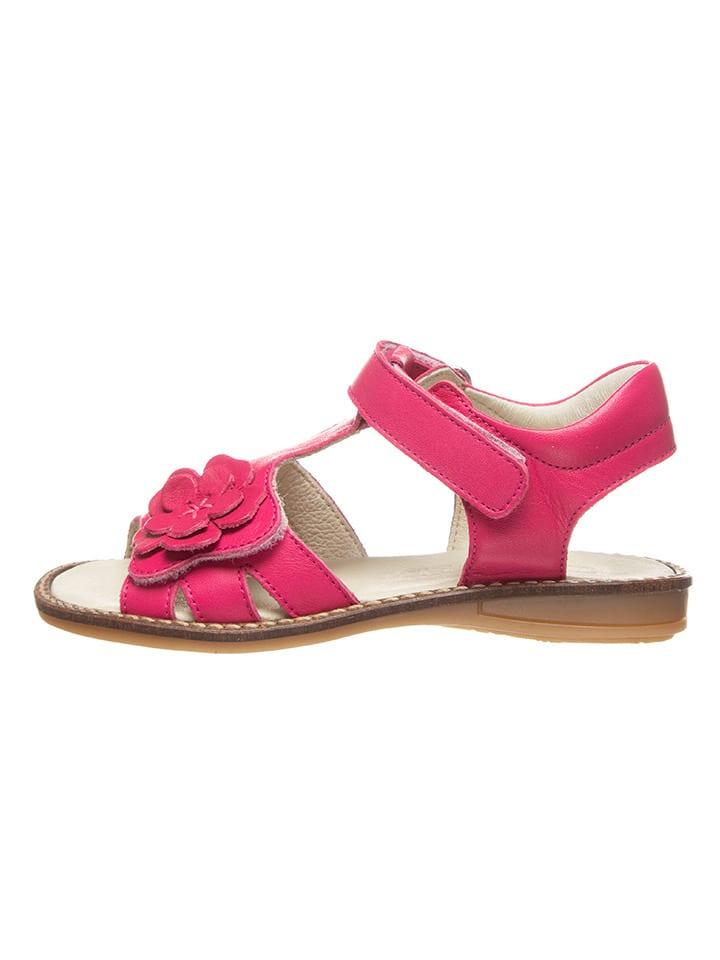 BO-BELL Leder-Sandalen in Pink