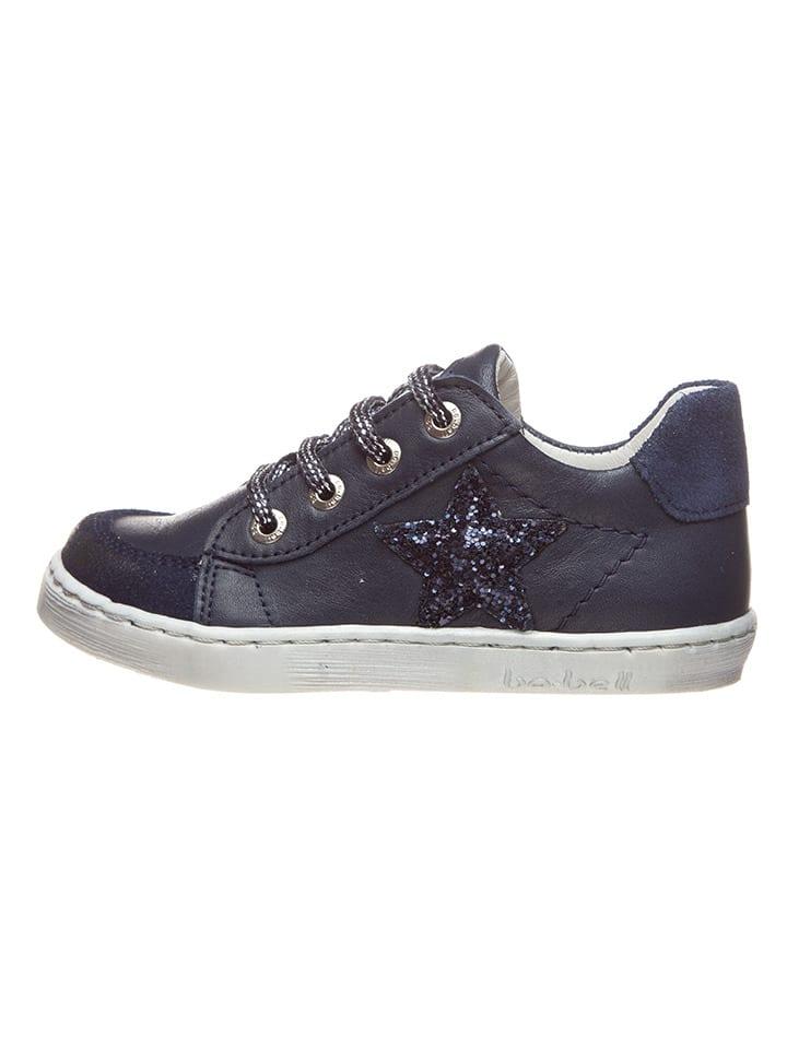 BO-BELL Leren sneakers donkerblauw