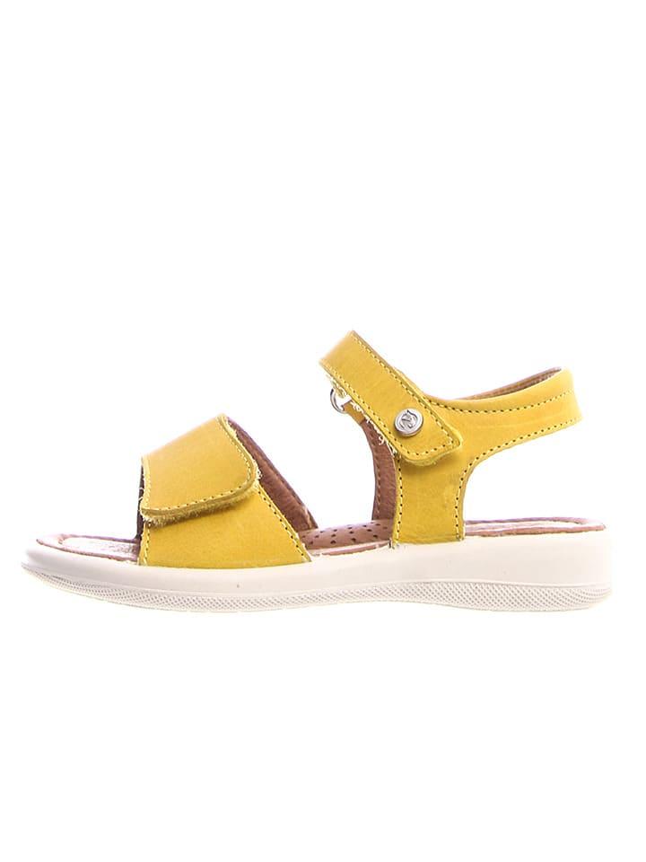 Naturino Leder-Sandalen in Gelb