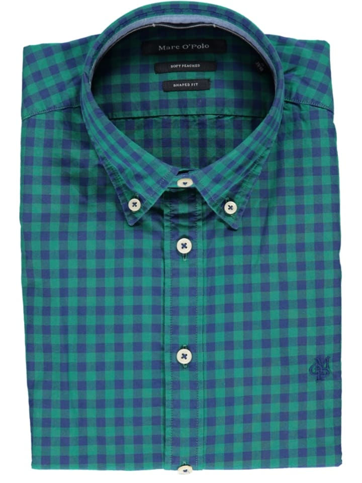 Marc O'Polo Blouse - shaped fit - groen