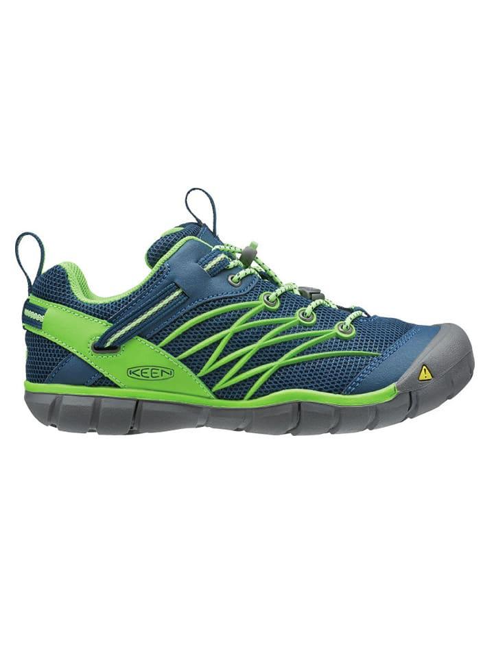 """Keen Sportschoenen """"Chandler CNX"""" blauw/groen"""