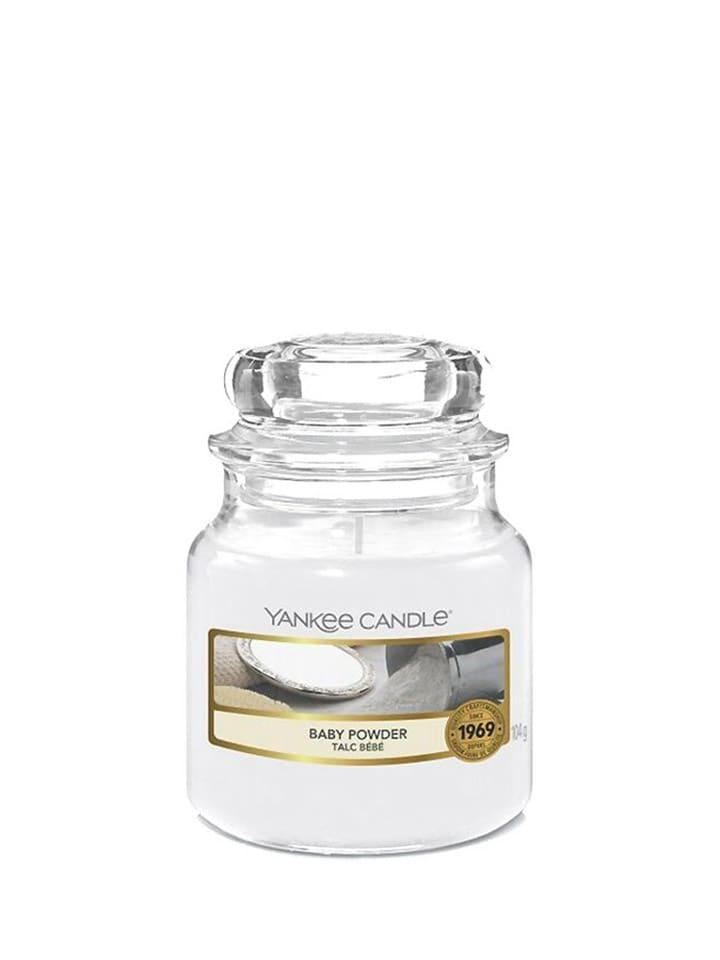 Yankee Candle Mała świeca zapachowa - Baby Powder