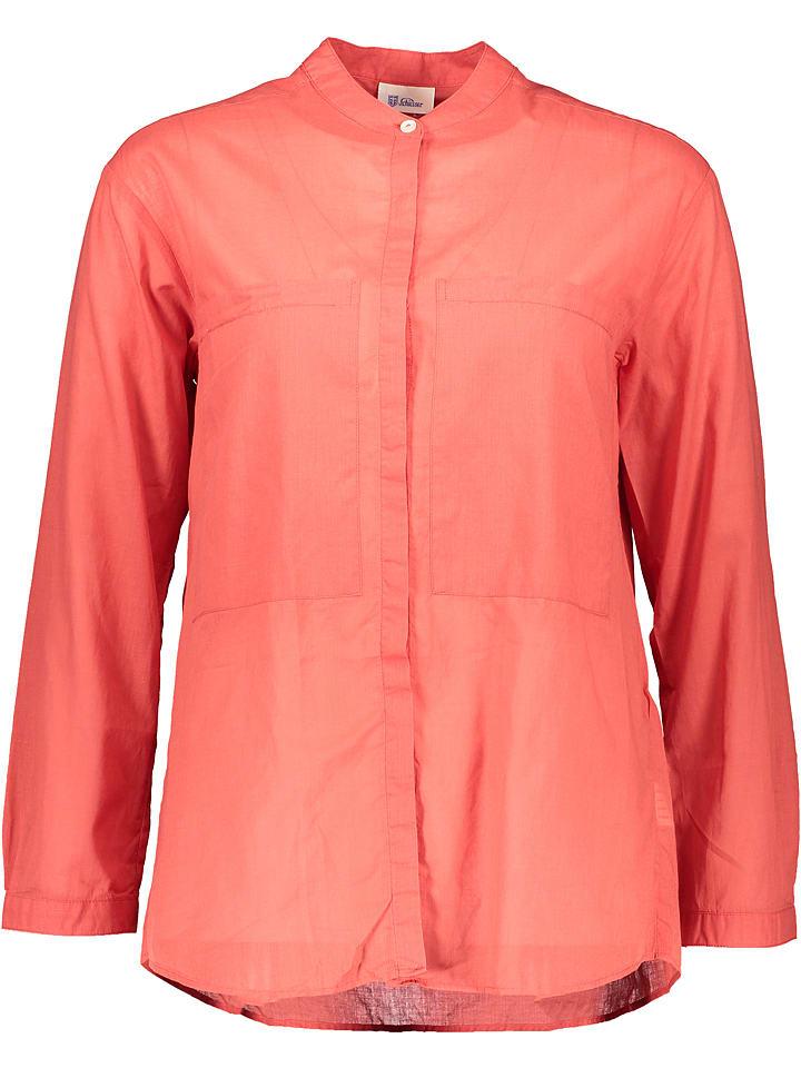 """Schiesser Revival Bluzka """"Barbara"""" w kolorze czerwonym"""