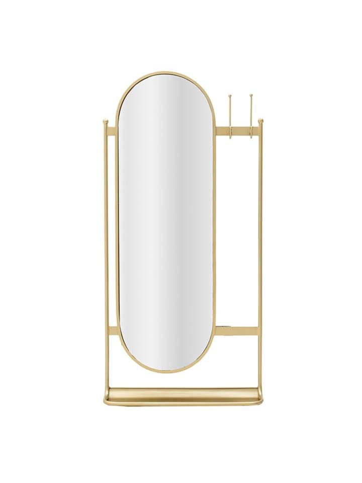 InArt Spiegel in Gold - (B)52 x (H)106 x (T)12 cm