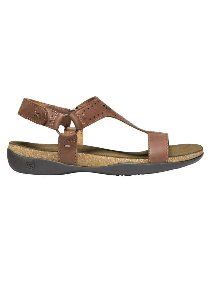 "Keen Leren sandalen ""Kaci-Ana"" lichtbruin"