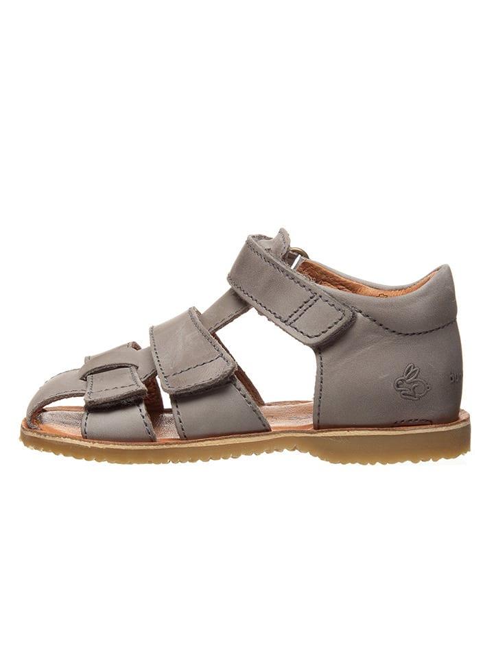 """Bundgaard Leren sandalen """"Shea"""" grijs"""