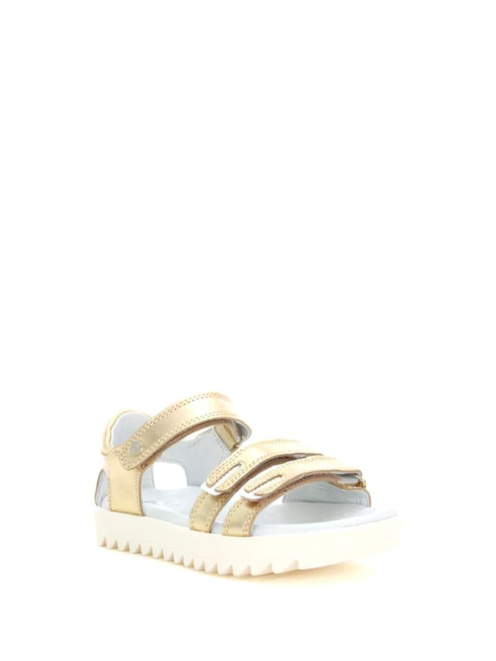 Bartek Leren sandalen goudkleurig