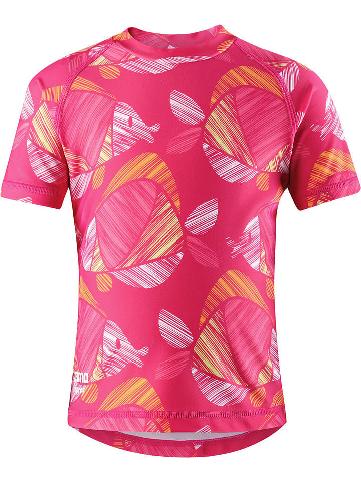 """Reima Badeshirt """"Azores"""" in Pink/ Bunt"""