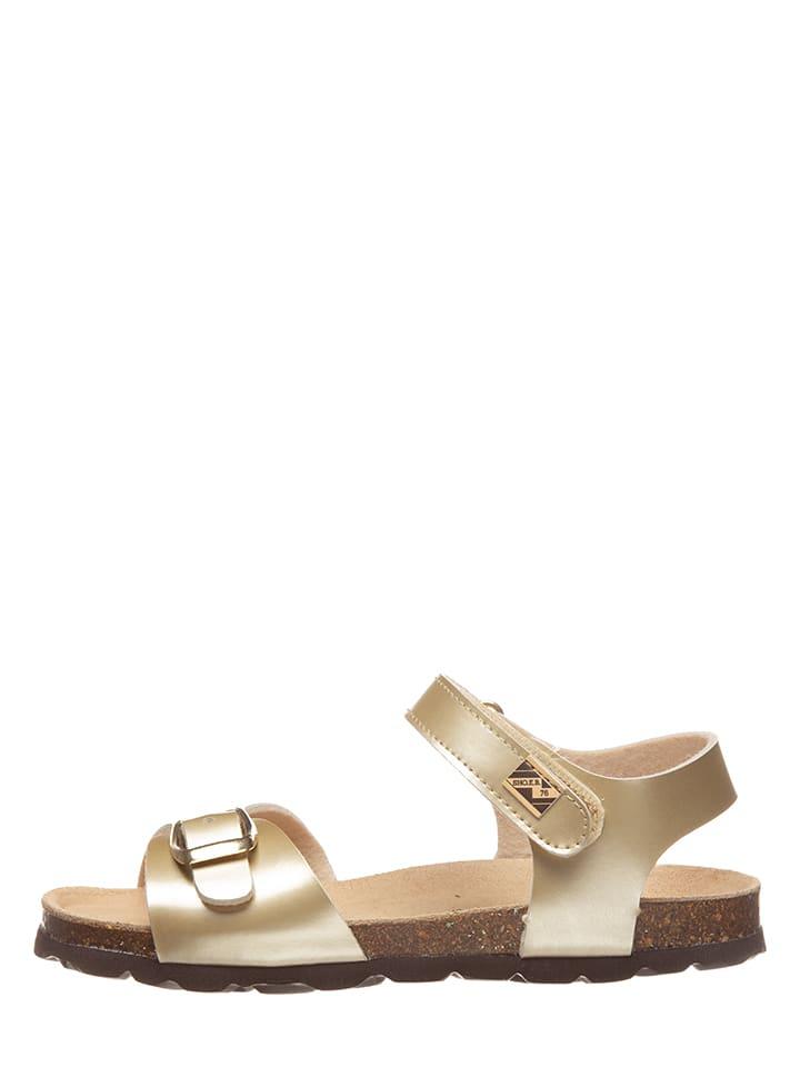 Sandalen goudkleurig