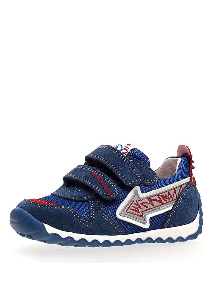Naturino Leren sneakers blauw