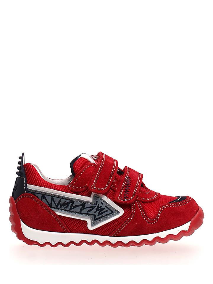 Naturino Leren sneakers rood