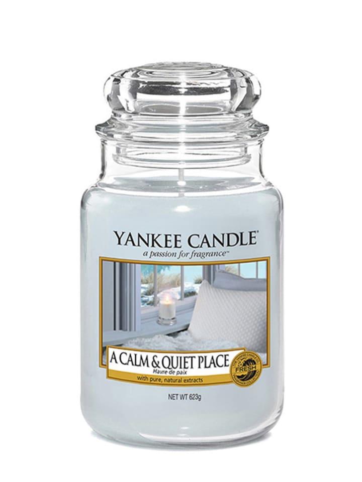 Yankee Candle Duża świeca zapachowa - A Calm & Quiet Place