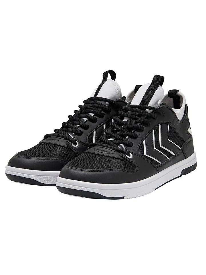 "Hummel Sneakersy ""Power Play"" w kolorze czarnym"