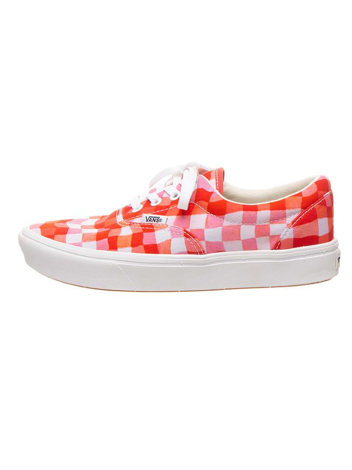 "Vans Sneakers ""Comfycush Era"" rood/oranje"