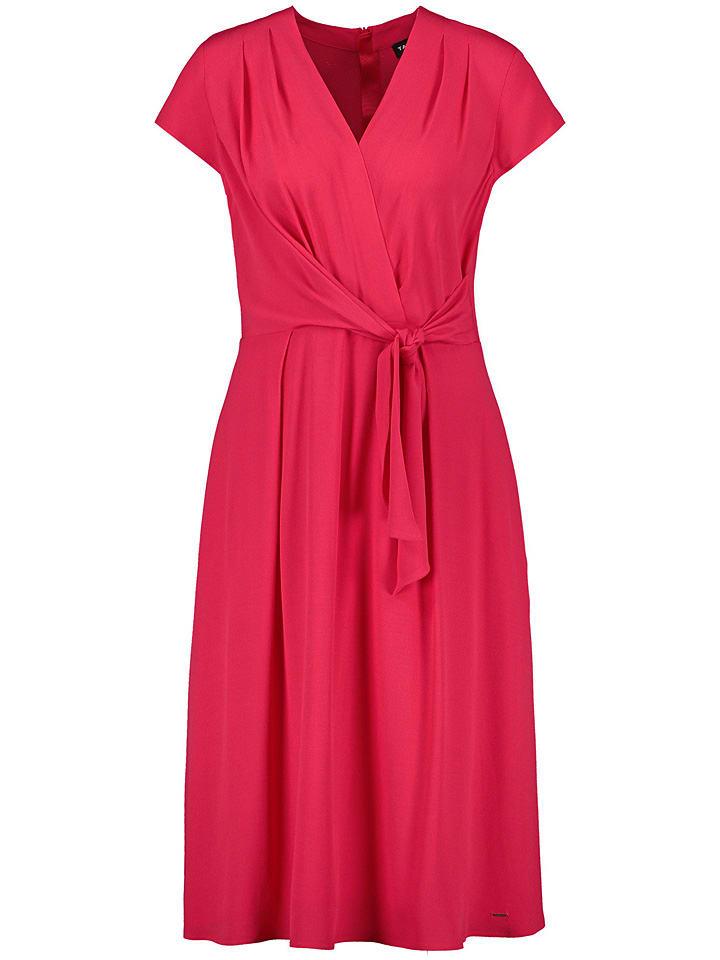 TAIFUN Kleid in Rot