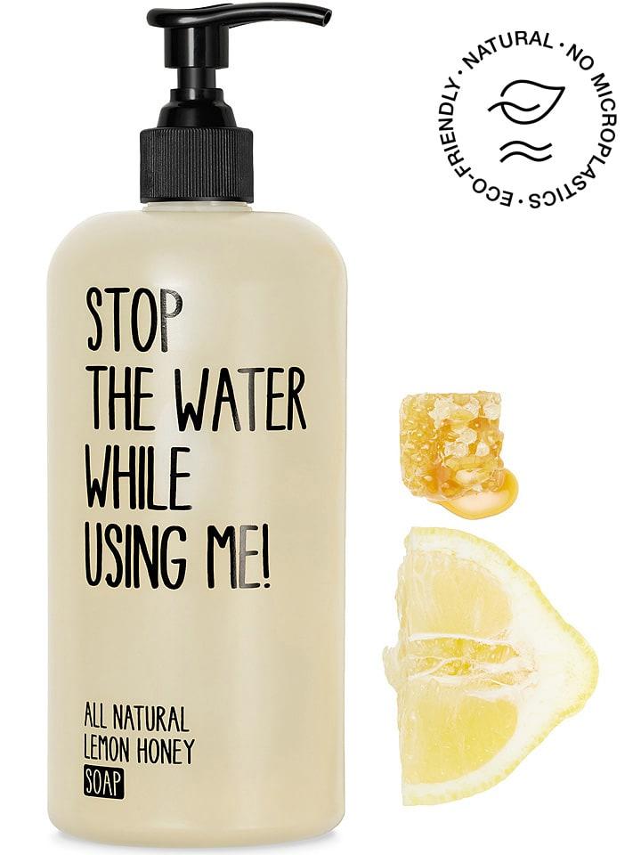 "STOP THE WATER WHILE USING ME! Zeep ""Lemon Honey"", 500 ml"