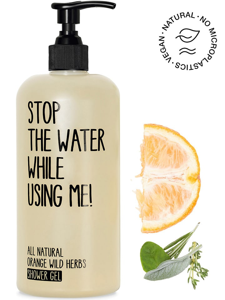 """STOP THE WATER WHILE USING ME! Douchegel """"Orange Wild Herbs"""", 500 ml"""