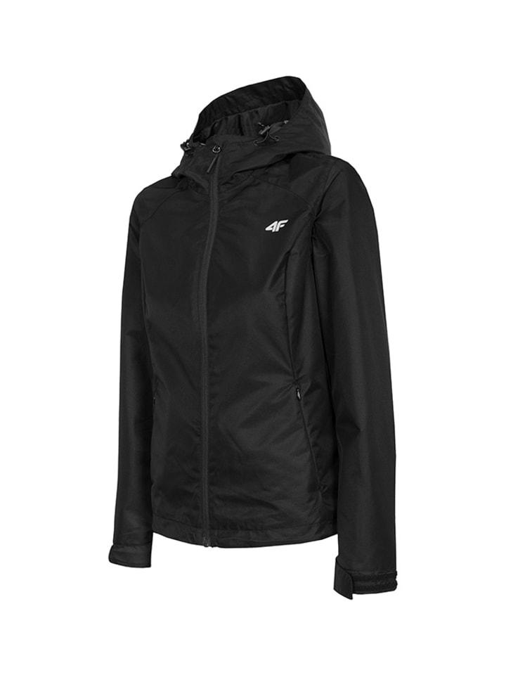 4F Functionele jas zwart