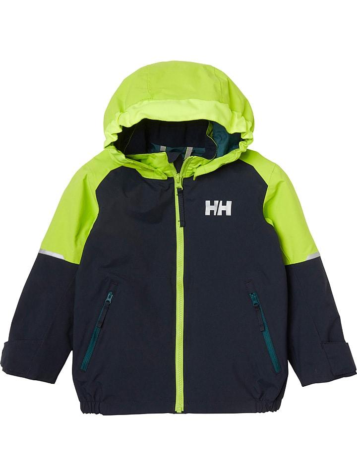 "Helly Hansen Regenjas ""Shelter"" donkerblauw/groen"