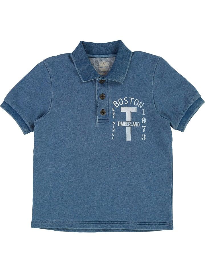 Timberland Koszulka polo w kolorze niebieskim