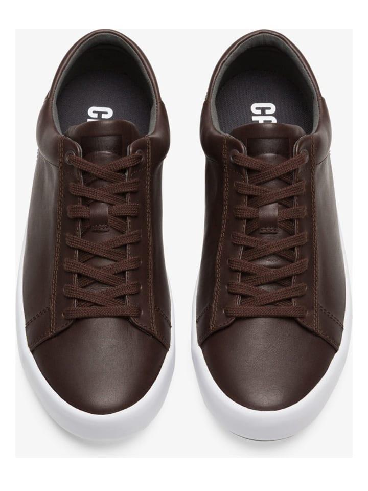 """Camper Leren sneakers """"Andratx"""" bruin"""
