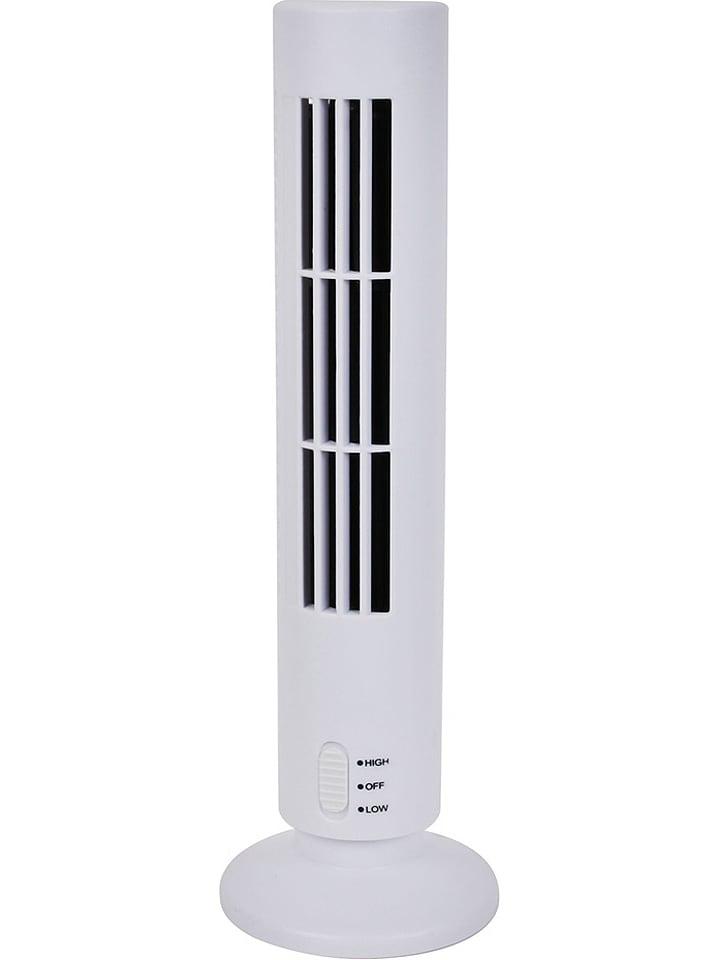 Ventilator wit - (H)33 cm - Ø 6 cm