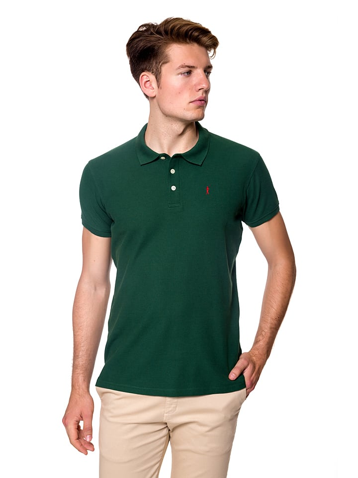Polo Club Poloshirt donkergroen