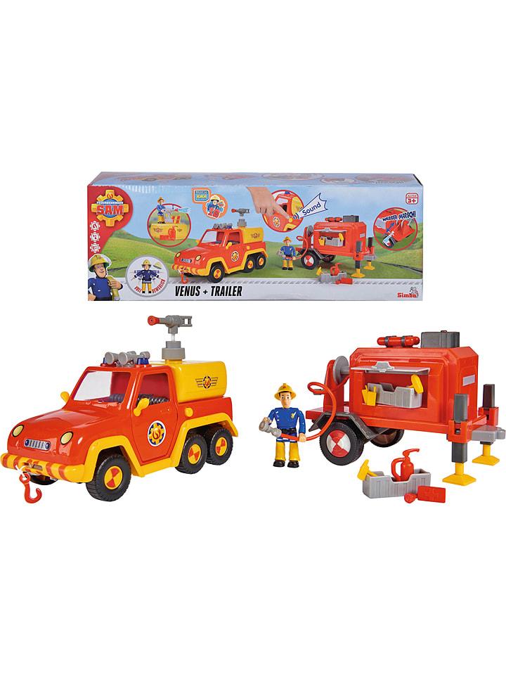 "Feuerwehrmann Sam Bluswagen ""Sam"" met accessoires - vanaf 3 jaar"