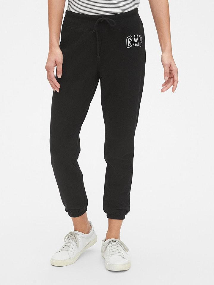 GAP Spodnie dresowe w kolorze czarnym