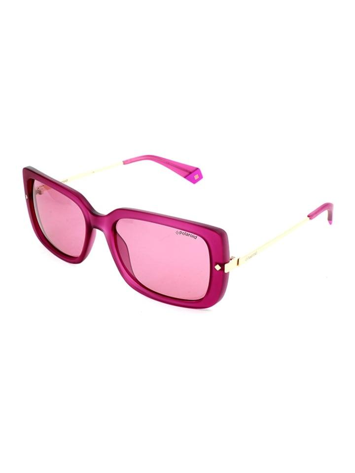 """Polaroid Okulary przeciwsłoneczne """"4075/S"""" w kolorze złoto-różowym"""