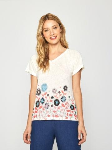 Surkana Koszulka w kolorze białym ze wzorem