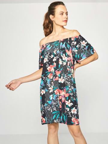 Surkana Sukienka w kolorze czarnym ze wzorem
