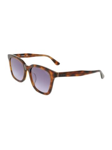 Guess Damen-Sonnenbrille in Braun/ Lila