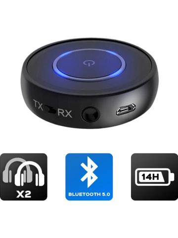 AKASHI Bluetooth-Audio-Transmitter in Schwarz