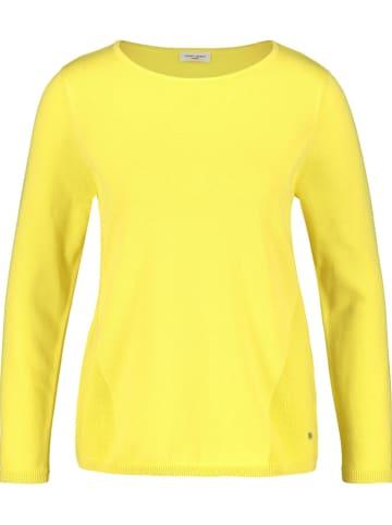 Gerry Weber Sweter w kolorze żółtym