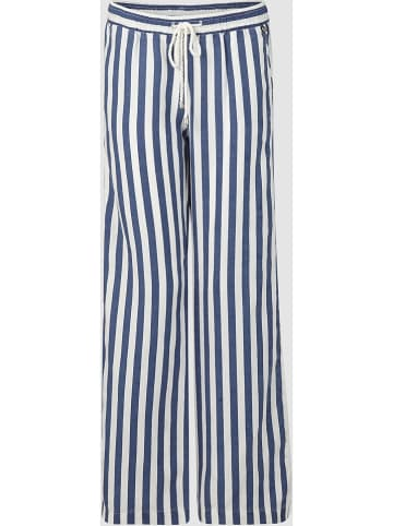 Rich & Royal Spodnie w kolorze niebiesko-białym