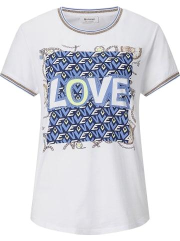 Rich & Royal Koszulka w kolorze biało-niebieskim